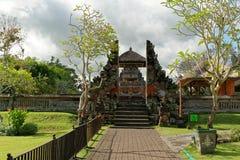 Pura Taman Ayun Main Entrance Imágenes de archivo libres de regalías