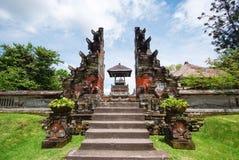 Pura Taman Ayun tempel på Bali, Indonesien Royaltyfri Foto