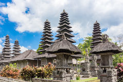 Pura Taman Ayun Temple in Bali, Indonesië Stock Afbeelding