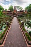 Pura Taman Kemuda Saraswati Stockfoto