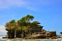 Pura tanah lot in Bali Stock Photography