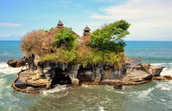 Pura tanah lot in Bali Royalty Free Stock Photography