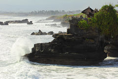 Pura Tanah Lot Bali, Indonesien Royaltyfri Bild