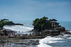 Pura Tanah Lot-tempel op Bali Royalty-vrije Stock Fotografie