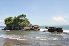 Pura Tanah Lot temple on Bali Royalty Free Stock Photography