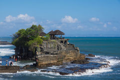 Pura Tanah Lot - temple in the sea Stock Images