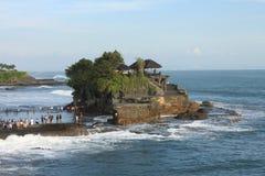 Pura Tanah udział Bali 02 Obrazy Royalty Free
