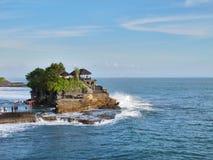Pura Tanah udział Bali 04 Fotografia Royalty Free