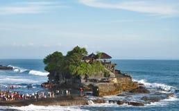 Pura Tanah udział Bali 05 Obraz Royalty Free