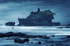 Pura Tanah udział, Bali, Indonezja Obraz Royalty Free