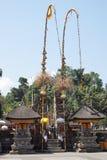 Pura tirta empul,巴厘岛,印度尼西亚 免版税库存照片
