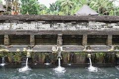 Pura Tirtha Empul,巴厘岛,印度尼西亚 图库摄影