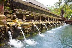 Pura Tirtha Empul, Bali, Indonesië Royalty-vrije Stock Foto