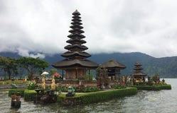 Pura Ulan Dan Bratan, Bali, Indonesia imagen de archivo libre de regalías