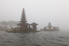 Pura Ulu Danau Temple on Bratan lake Royalty Free Stock Photo
