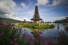 Pura Ulun Danu巴厘岛 免版税库存图片