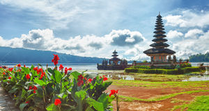 Pura Ulun Danu Stock Photography