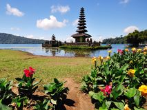 Pura Ulun danu bedugul Bali Zdjęcia Royalty Free