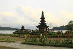 Pura Ulun Danu, Beratan, Bali, Indonesia royalty free stock photo