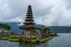Pura Ulun Danu Beratan Bedugul świątynia w Bali zdjęcie stock