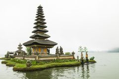 Pura Ulun Danu Beratan [Pura Bratan] Bali royalty free stock photo