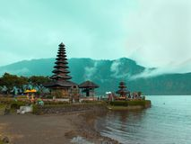 Pura Ulun Danu Beratan Royalty Free Stock Photography