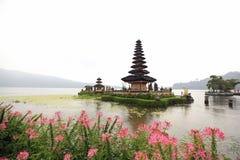 Pura Ulun Danu Bratan在巴厘岛,印度尼西亚 库存图片