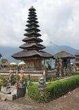 Pura Ulun Danu Bratan,巴厘岛,印度尼西亚 免版税库存图片