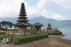 Pura Ulun Danu Bratan,巴厘岛,印度尼西亚 免版税库存照片