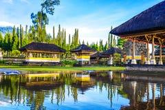 Pura ulun danu bratan świątynia w Bali zdjęcia stock