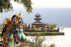 Pura Ulun Danu Bratan Imagen de archivo libre de regalías