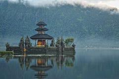 Pura Ulun Danu Bratan, Bali Fotografía de archivo libre de regalías
