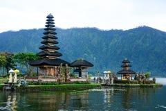 Pura Ulun Danu Bratan, Bali fotografia stock libera da diritti
