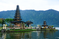 Pura Ulun Danu Bratan, Bali royalty free stock photo