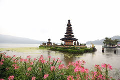 Pura Ulun Danu Bratan in Bali, Indonesia. At the Central Mountain area of Bali, Indonesia is the view of Pura Ulun Danu Bratan, which is one of Bali's most Stock Image