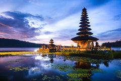 Pura Ulun Danu Bratan at Bali, Indonesia Royalty Free Stock Photo