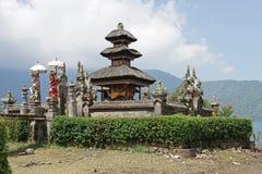 Pura Ulun Danu Bratan Bali, Indonesien Fotografering för Bildbyråer