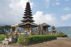 Pura Ulun Danu Bratan Bali, Indonesien Royaltyfri Bild
