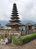 Pura Ulun Danu Bratan Bali, Indonesien Royaltyfria Bilder