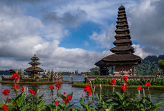 Pura Ulun Danu Bratan, Bali, Indonesien Stockfotografie