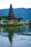 Pura Ulun Danu Bratan bei Bali, Indonesien lizenzfreie stockfotografie