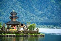 Pura Ulun Danu Bratan bei Bali, Indonesien lizenzfreies stockbild