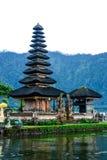 Pura Ulun Danu Bratan en Bali, Indonesia foto de archivo libre de regalías