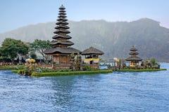 Pura Ulun Danu Bratan, Hindu temple on Bali Indonesia Stock Photo