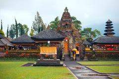 Pura Ulun Danu Bratan, Hindu temple on Bratan lake, Bali, Indonesia Royalty Free Stock Image