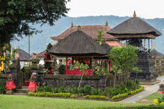 Pura Ulun Danu Bratan, Hindu temple on Bratan lake, Bali, Indonesia. Pura Ulun Danu Bratan, Hindu temple on Bratan lake, Bali royalty free stock photos