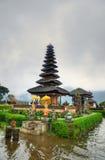 Pura Ulun Danu Bratan, Hindu temple on Bratan lake, Bali, Indonesia.  royalty free stock photo