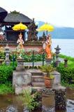 Pura Ulun Danu Bratan, Hindu temple on Bratan lake, Bali, Indonesia.  royalty free stock image