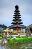 Pura Ulun Danu Bratan, Hindu temple on Bratan lake, Bali, Indonesia.  royalty free stock images
