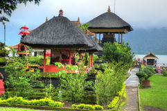 Pura Ulun Danu Bratan, Hindu temple on Bratan lake, Bali, Indonesia Royalty Free Stock Images